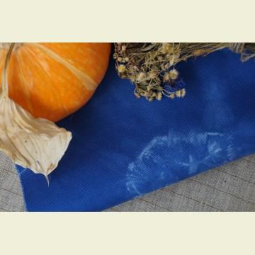 Ткань для вышивки ручного окрашивания «Marine blue»