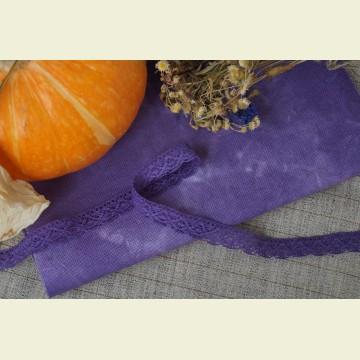 Ткань для вышивки ручного окрашивания «Rich lavender»