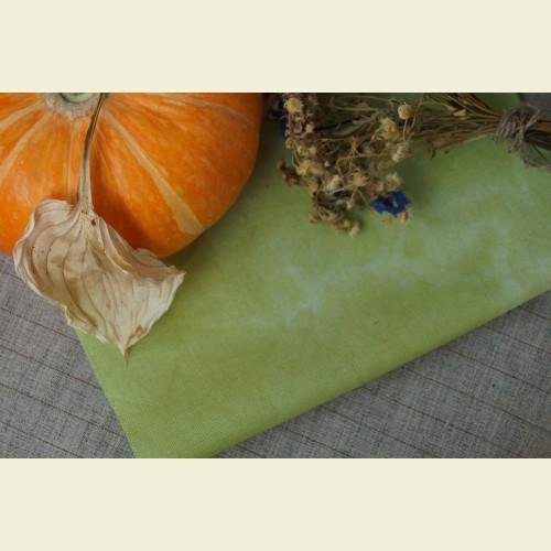 Ткань для вышивки ручного окрашивания «Young greens»