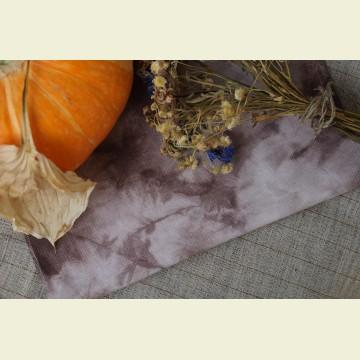 Ткань для вышивки ручного окрашивания «Storm brown»