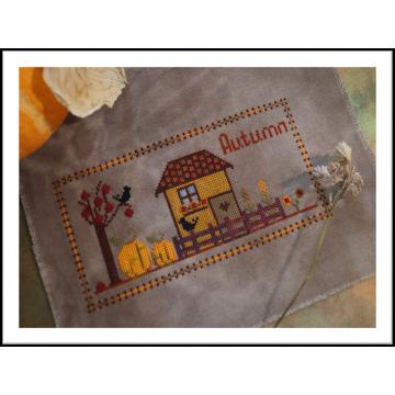 Схема для вышивки «Autumn»
