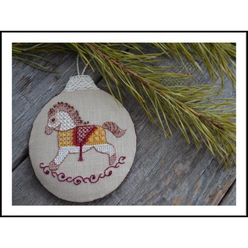Схема для вышивки «Лошадка-качалка»