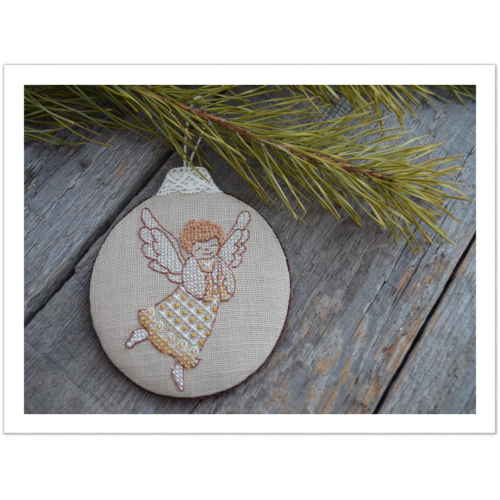 Схема для вышивки «Рождественский ангел»