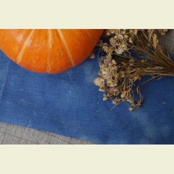Ткань для вышивки ручного окрашивания «Boiled blue»