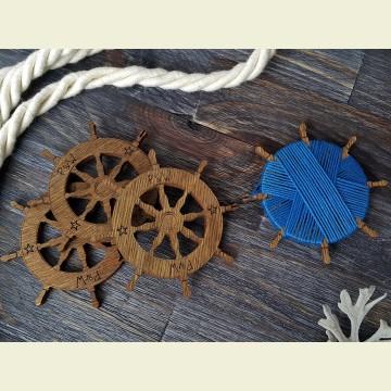 Бобинка «Штурвал» из Морской коллекции