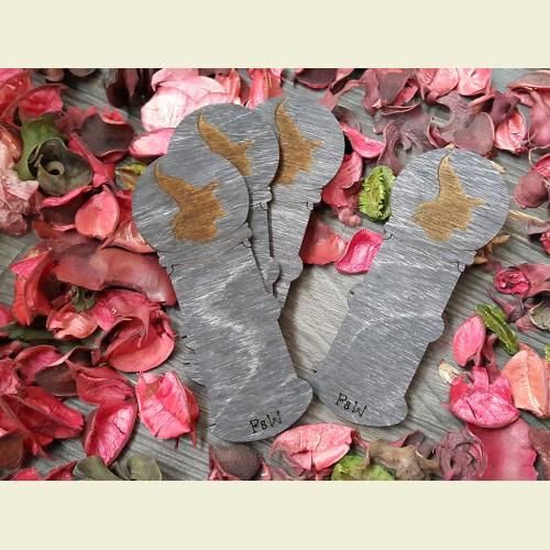 Бобинка «Хрустальный шар - профиль ведьмы»