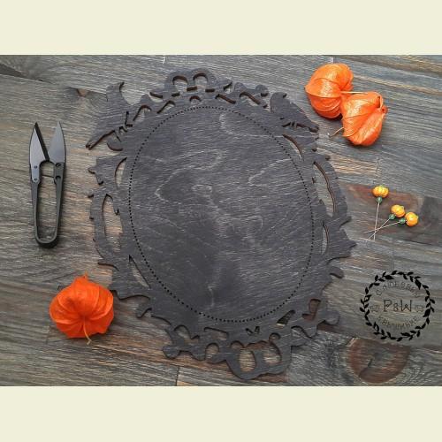Основа для оформления вышивки  «Воронье зеркало»
