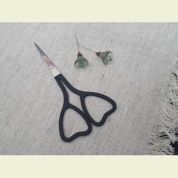 Ножницы с ручками-сердечками